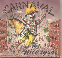 NICE Carnaval 1954  - Présentation Des Chars - Carnaval