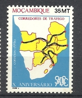 MOZAMBIQUE  1990 SADCC  MNH - Mozambico