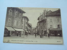 THONON-LES-BAINS La Grande Rue - Thonon-les-Bains