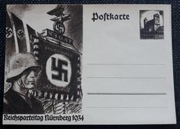DR 1934, Postkarte P252, Ungebraucht - Ganzsachen