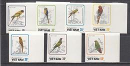 Vietnam 1988 - Oiseaux Grimpeurs, Mi-Nr. 1922/28, Non Dent., MNH** - Vietnam
