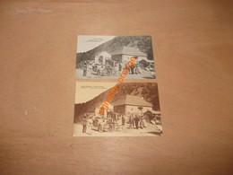 2 Cartes Postales - LOS PIRINEOS - Vallé De Aran  - PONTAU  ( Pontaut ) - Customs