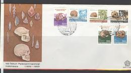 INDONESIË INDONESIA 1989 ZBL FDC SHP 11 PALEOANTROPOLOGI BLANK BLANCO - Indonésie
