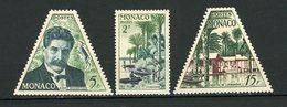 MONACO - SCHWEITZER - N° Yvert 412+413+414 ** - Monaco
