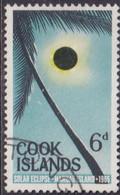 COOK ISLANDS 1965 SG #174 6d Used Solar Eclipse - Cookeilanden