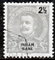 !■■■■■ds■■ Inhambane 1903 AF#15ø King Carlos Mouchon 2,5 Réis (x10841) - Inhambane