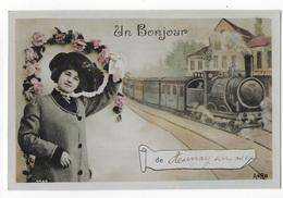 14 - AUNAY SUR ODON - Un Bonjour     JYV - France