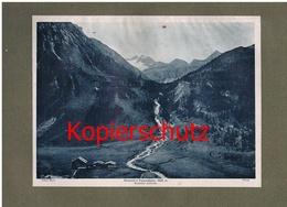 037-2 Krimmler Tauernhaus Privathütte Alpenverein Berghütte Lichtdruck 1908 !! - Ohne Zuordnung