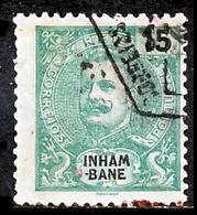 !■■■■■ds■■ Inhambane 1903 AF#18ø King Carlos Mouchon 15 Réis (x9366) - Inhambane