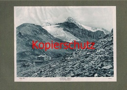 041-3 Stüdlhütte Alpenvereinshütte Alpenverein Berghütte Lichtdruck 1908 !! - Ohne Zuordnung
