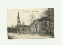 39 - PORT LESNEY - église Et Mairie Petite Animation  Pli Droite Invisible Scan Sinon Bon - France