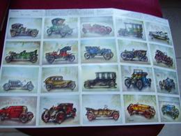 Lot Chromos Images Vignettes Minerva *** Histoire De L' Automobile *** Série 3 Complet - Albums & Catalogues