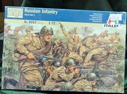 Modèle Réduit ITALERI 1/72 Russian Infantry  N°6057 - Army & War