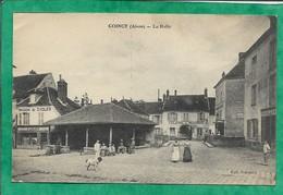 Coincy (02) La Halle 2scans Maison De Cycles E. Leclere - Tuilerie Mécanique - Boulangerie 28-05-1917 - Autres Communes