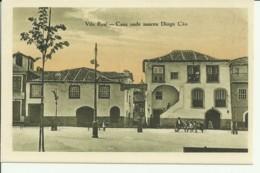 Portugal - Vila Real - Casa Onde Nasceu Diogo Cão - Vila Real