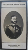 Alphonse XII Roi D' Espagne - Première Collection Photo Felix POTIN 1900 - Félix Potin