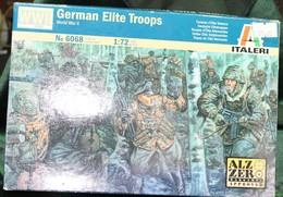 Modèle Réduit ITALERI 1/72 German Elite Troops  N°6068 - Militaria