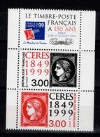 YV P3212A N** Paire 3211 & 3212 Se Tenant + Vignette Cote 8,50 Euros - France