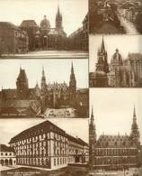 """AACHEN 1926 """" Serie: 6 (SECHS) Goldgeränderte Karten """" - Aachen"""