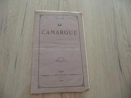Plaquette La Camargue Arles 1877 Agriculture Pratique 16 P Problèmes D'eau - Provence - Alpes-du-Sud