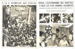 """PUB-REPORTAGE ELECTROPHONE  """" TEPPAZ """"   1957 (3) - Musique & Instruments"""
