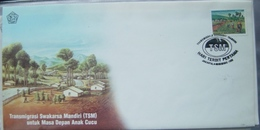 INDONESIË INDONESIA 1993 ZBL FDC SHP 13 BLANK BLANCO - Indonesien