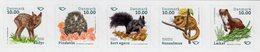 Denmark - 2020 - Mammals Of Denmark - Mint Self-adhesive Stamp Set - Nuovi