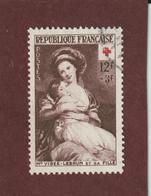 966 De 1953 - Oblitéré - Au Profit De La Croix-Rouge - Voir Les 2 Scannes - France