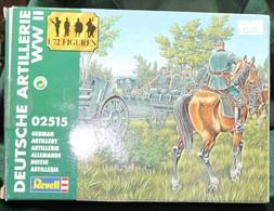 Modèle Réduit REVELL 1/72 Deutsche Artillerie WWII - Militaria
