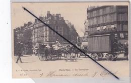 Paris (75) Paris Vécu. Un Carrefour (à Localiser)(carte Précurseur De 1904) - Frankreich