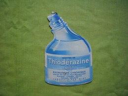 Pub Gouttes De Thiodérazine Laboratoire Midy Forme Bouteille - Publicités