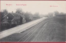 Barchon Blegny Route De Tignee Edit. Vannevel 1909 Liege Cachet Obliteration (En Très Bon état) (In Zeer Goede Staat) - Blegny