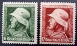 Deutschland 1935 Heldengedenktag Satz Mi 569-570 MNH ** - Deutschland