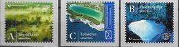 CROATIA, 2020, MNH ,NATURAL WONDERS OF CROATIA, CAVES, BOATS, LANDSCAPES,3v - Other