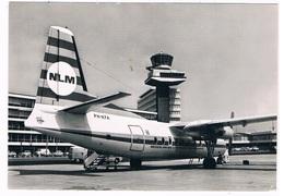 VV-520   AMSTERDAM : SCHIPHOL Airport With Fokker F27 - Vliegvelden