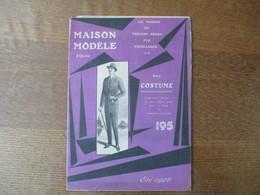 SAINT QUENTIN MAISON MODELE 25-27 RUE DE LA SELLERIE CATALOGUE ETE 1926 - Advertising