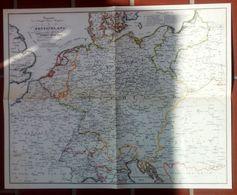 Post Haupt Straßen Deutschland Und Mittel Europa 1829 - Timbres