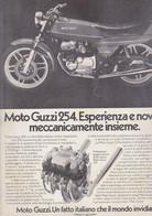 (pagine-pages)PUBBLICITA'  MOTO GUZZI   Oggi1977/20-21. - Altri