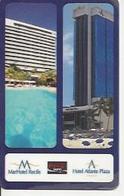 BRAZIL HOTEL KEYCARD ATLANTE PLAZA COCA COLA COKE - Cartas De Hotels