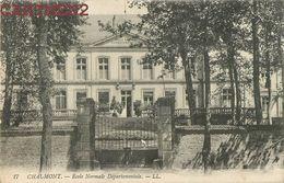 CHAUMONT CACHET GUERRE HOPITAL AUXILIAIRE MILITAIRE VAGUEMESTRE ECOLE NORMALE DEPARTEMENTALE 52 HAUTE-MARNE - Chaumont