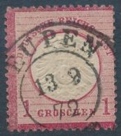 Allemagne 16 – Oblitération Eupen 13.9.1872 - Otros