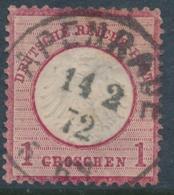 Allemagne 4 – Oblitération Apenrade 14.2.1872 Danemark - Aabenraa Or Åbenrå - Otros