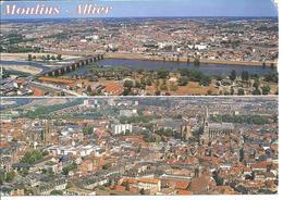 MOULINS - Le Pont Régemortes - Le Centre Ville - Moulins