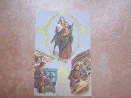Preghiera Alla Madonna Degli Emigranti PIO XII Formato Cm 7,6 X Cm 11,6 - Images Religieuses