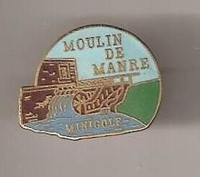 F476 Pin's Village Manre Ardennes Moulin Mil Mini Golf Qualité Egf Version BRUNE  Achat Immédiat Immédiat - Golf