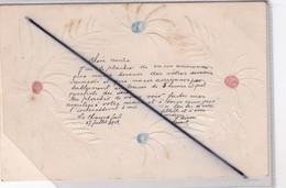 Suisse ;Chaux De Fonds,carte Fantaisie Et Gaufrée (carte Précurseur De 1903) - NE Neuchatel