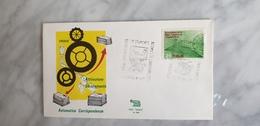 Smistamento Automatico Corrispondenza Firenze 1971 Annullo Postmark Cancel - Zipcode