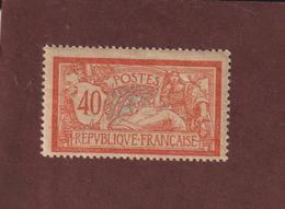 119 De 1900 - Neuf ** - Type Merson . 40c. Rouge Et Bleu - 2 Scannes - 1900-27 Merson