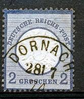 "REICH -  Mi Nr 20 - Stempel ""DORNACH"" - (ref. 66) - Germany"