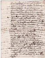 GENERALITE De MOULINS - UN SOL 4 DEN. - 1 Feuillet - 1741 - Cachets Généralité